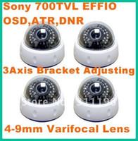 Infrared atr camera - 700TVL CCTV Camera with EFFIO OSD Menu ATR DNR m IR Dome Camera Built in mm manual zoom lens JS