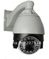Wholesale IR Infrared LED night vision x Zoom Speed Dome quot Sony CCD TVL PTZ quot Surveillance system CCT