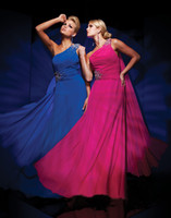 Wholesale Custom Made Hot Sale Ruffles Pleats Beadeed Evening Dresses Party Gown Sexy Prom Dress T011