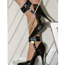 Wholesale Sex toy High Heeled Shoes Locker Exclude Shoes Bondage Restraint Gear Adult sex product HL62