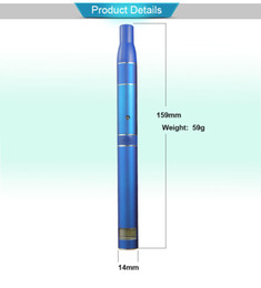 Wholesale Newest Ceramic Element Vaporizer Ago With Patent Herbal Vaporizer Wind Proof Herb LCD Display