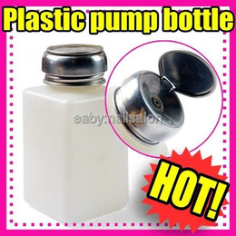 Wholesale 10pcs Original New Empty Pump Dispenser For Nail Art Polish Remover ML Bottle