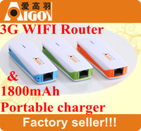 Wholesale 2013 hot sale G Wireless Router Wifi Hotspot with Power mAH support almost all the USB Modem