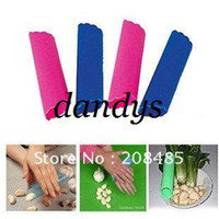Wholesale 20pcs Garlic Presses peeler skinner Creative Kitchenware with package