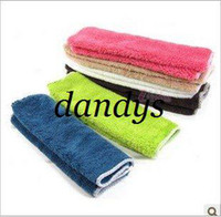 cleaning rags - PC cm Microfiber Cleaning Cloth Colored Kitchen Towels Wiping Dust Rags Magic Q