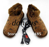 Wholesale luxury Foot Warmer Shoes Electric Heat Slipper several color optional