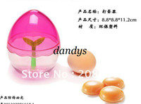 Egg Tools beaters plastics - Color Focus plastic egg shape egg beaters color mixed or specific color Kitchen Essential