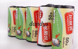 Wholesale thicken home use or pet dog Garbage Clean up Bag Roll Pick Up Waste Poop Bag bin rubbish b
