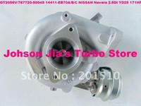 Cheap  NISSAN D40 Navara,Pathfinder 2.5DI 767720 turbocharger Best GT2056V 14411-EB70A/B/C D40 Navara Pahfinder