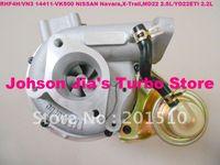 Turbochargers RHF4H 14411-VK500 NEW RHF4H VN3 14411-VK500 Turbocharger for NISSAN Navara 2.5DI,X-Trail,2.2DI,MD22 2.5L YD22ETI 2.2L