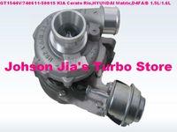 KIA Cerato Rio,HYUNDAI Matrix Getz 1.6L GT1544V 740611-5001S/740611-5002S/5003S/782403 GT1544V 740611-5001S 28200-2A100 Turbocharger for KIA Cerato Rio,HYUNDAI Matrix Getz,D4FA D4FB 1.5L
