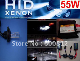 Auto XENON HID Conversion Kit AC 12V 55W 9005 HB3 4300K-12000K Car Xenon Bulb lamps HID ballast