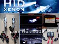 al por mayor conversión hid kit 35w ac-XENON HID tensión Auto Kit de conversión AC 35W H7 8000K HID Xenon HID Kit bomba de lastre de xenón HID lámpara