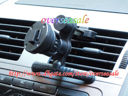 Wholesale Universal degree rotating Car mount holder stand supporter Kit Plastic for Cell Phone GPS Sample