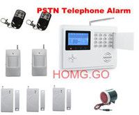 Wireless   Wireless Home Security System LCD Burglar Fire Alarm House Auto Dialer New