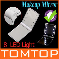 Wholesale Fashion Design LED leds Light Lamps DIY Make up makeup Cosmetic Mirror H1928