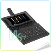 Wholesale 7 inch Capacitive Android AllWinner A13 Tablet PC MB DDR3 Ram GB WIFI Keyboards Cases