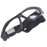 Wholesale Foam Gasket Versatile Goggles Eyeglasses Eyewear with Elastic Headband amp Transparent Lens