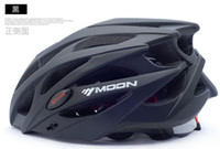 Wholesale MOON Racing Cycling Helmets Integrated Bicycle Safty Helmets Men Women Montain Bi