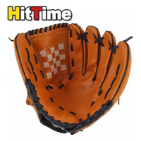 Wholesale New Dark Brown Durable Men Softball Baseball Glove Sports Player Preferred
