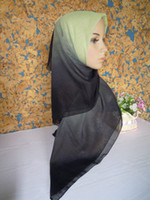 Printed cotton square scarf - mu075 new design high quality voile square scarf muslim hijab fashion shawl fast delivery