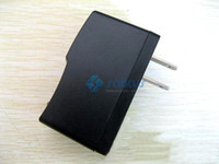 Wholesale 5V a US EU plug AC Power adapter USB Charger for Tablet PC CCTV Camera