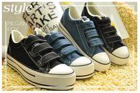 velcro - Womens Velcro Basics platform Canvas Thick Plimsoll Shoes Sneaker Sizes