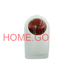 Wired External Outdoor Waterproof Siren Strobe for Security Alarm System