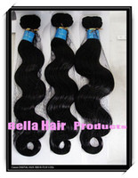 Wholesale Mix length quot quot Malaysian Virgin Remy Hair Weft Natural Color Body Wave g FreeShip