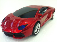Wholesale Lamborghini JTM portable mini USB music car shape speaker with FM radio USB TF card slot