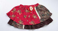 Wholesale New Baby Ruffled Bloomer with BOW Infant Girl Skirt with Diaper Cover colors sizes