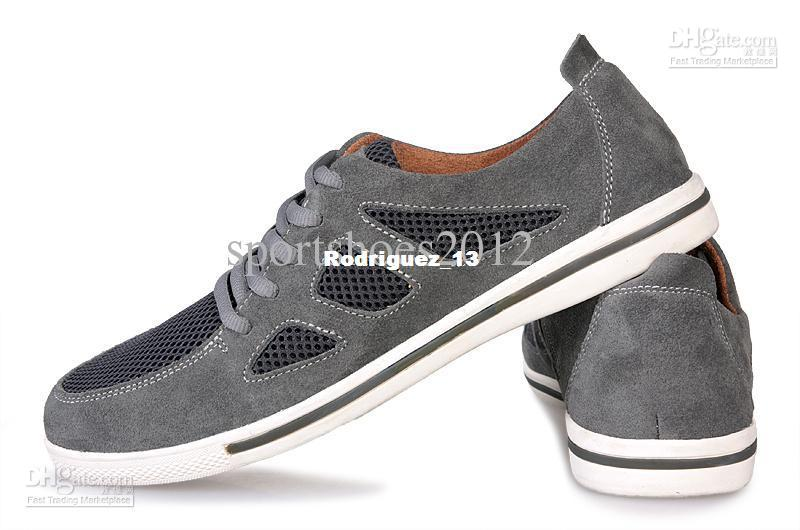 Free Shipping high top casual male shoes attached the skates men's