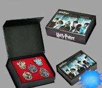Wholesale Children s Harry Potter College Metal Badges Harry Potter Brooch Birthday Gift