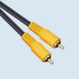 CHOSERL 4N OFC Male to male single RCA Q-706 composite Video cable AV cable RCA line 1.8M 3M 5M 10M