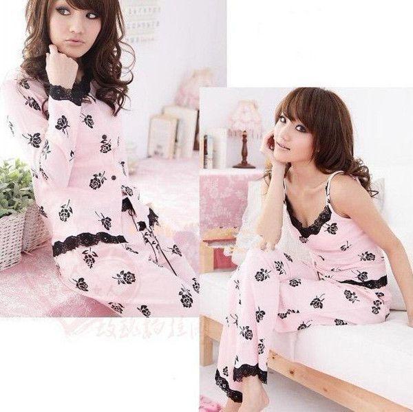 2017 Summer Female Pajamas, Pajama Set For Women/Lady, Home Wear ...