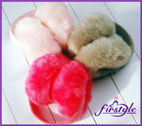 Wholesale ear cover warm plush earflap faux fur earmuffs thermal ear cover ear set big sale