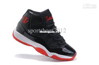 Wholesale 2012 TW brand basketball shoes mens Running shoes Rubber soles air cushion Black nets cloth red logo