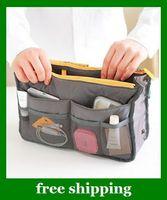Wholesale Women Travel Insert Handbag Organiser Purse Large liner Organizer Bag colors gifts For