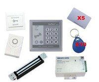 access control magnetic lock - RFID Electro Magnetic Door Lock Access Control System Full Set