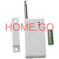 Wholesale Wireless Door Window Magnet Sensor Detector for My Home Alarm MHz