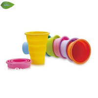 Wholesale OD01 folding cup magic cup collapsible silicone storage bowl