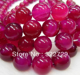 DIY handmade jewelry 6mm natural gemstone beaded crystal cherry red roses red agate beads wholesale