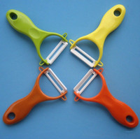 Wholesale High quality Antioxidant Ceramics Fruits and vegetables Peeler Plane iron Ceramic Fruit knife peeler