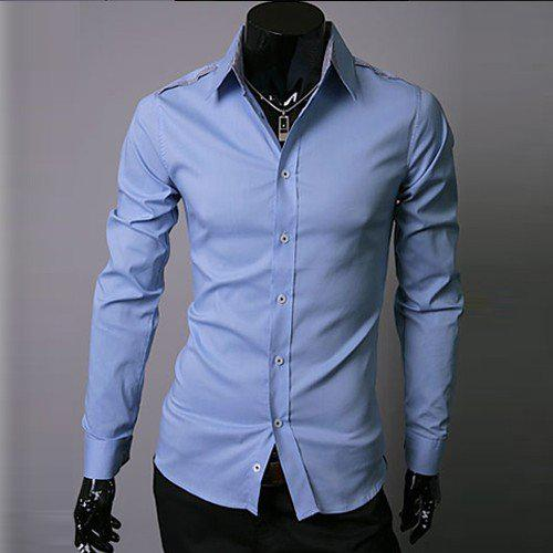 Blue Shirt Mens