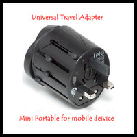 Wholesale Universal Travel Adapter AU US UK EU Plug mobile phone power charger
