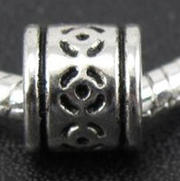 Metals tibetan beads - 142PCS Tibetan Silver Cute Spacer Beads Fit European Charms Bracelet Jewelry DIY mm