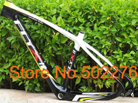 Wholesale FLYXII Full Carbon K MTB Mountain Bike Bicycle ER Frame painted Headset