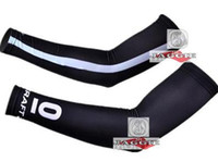 Wholesale TREK black white Cycling Arm Warmers Bicycle Arm Warmer Cycling Gear