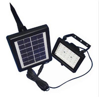 Wholesale Solar Led Flood Lights Leds Garden Outdoor Projecting Landscape Lawn Lamp Solar Powered Wall