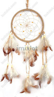 Wholesale 2X New Arrival Native American Indian Style Dream Catcher With The Feather Q08B
